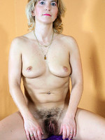 hairy pits and hairy pussy on this hot looking milf